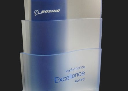 Evans Incorporated earns Boeing Performance Excellence Award