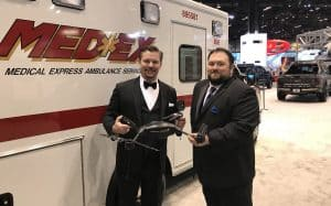 PropelUAS and MedEx Ambulance Service at the 2018 Chicago Auto Show