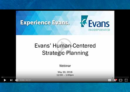 Webinar: Evans' Human-Centered Strategic Planning